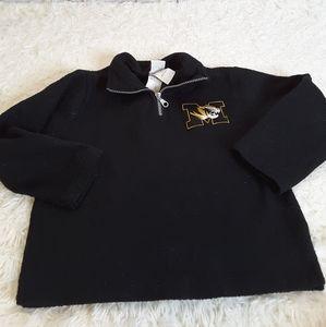 3/$30 Majestic University of Mo fleece sweatshirt